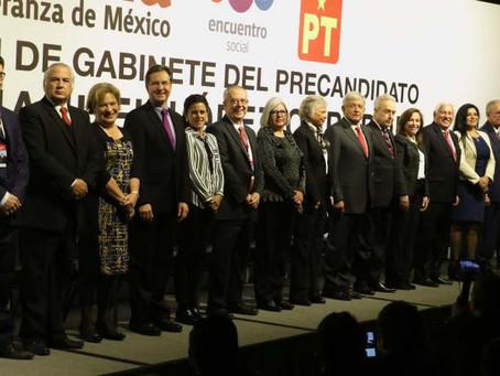 El gabinete de López Obrador