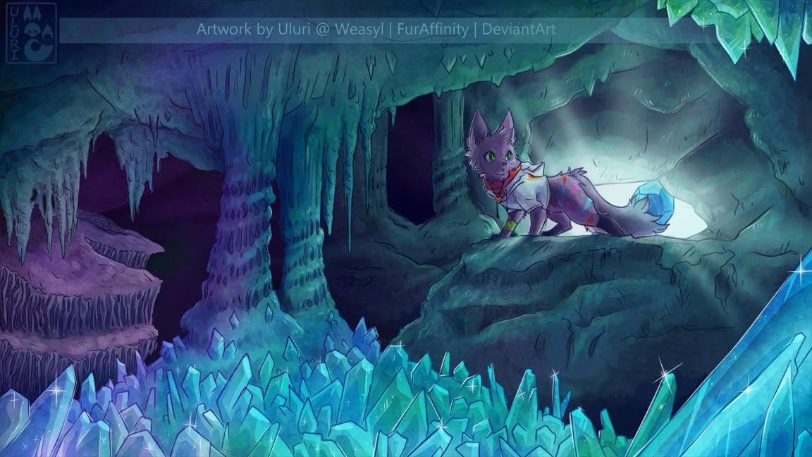 Crystal Cave Uluri