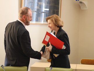 Loi de programmation militaire 2019-2025 et rencontre avec la Ministre des Armées Florence Parly