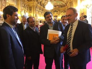 Rencontre - Groupe d'amitié France-Iran