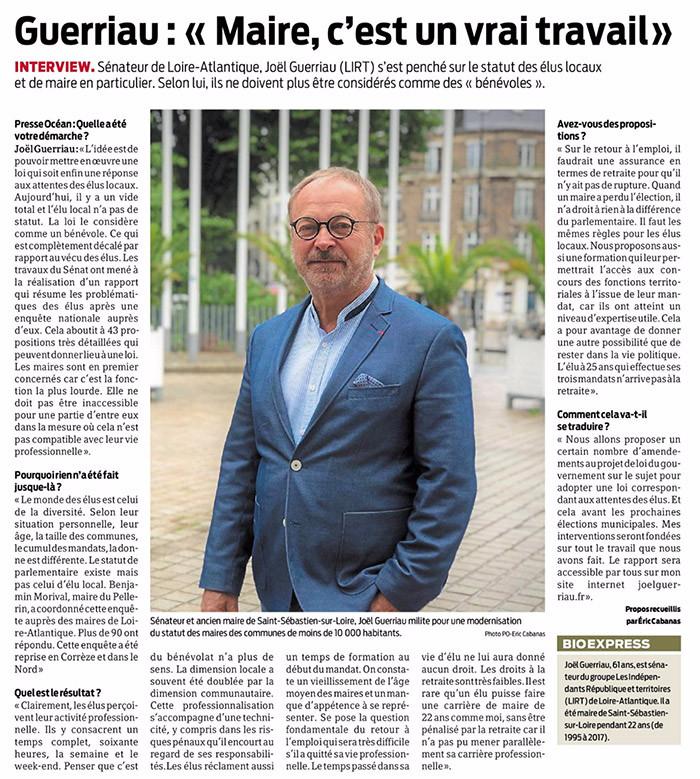 Presse Océan du 11/06/19