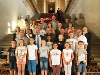 Retour en photos sur la visite du conseil municipal enfant de la ville de Legé au Palais du Luxembou
