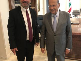 Retour en photos sur ma visite au Liban où j'ai rencontré le président de la République Aoun et