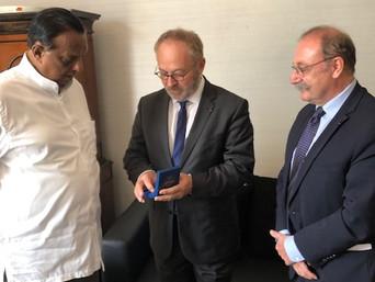 Déplacement au Sri Lanka