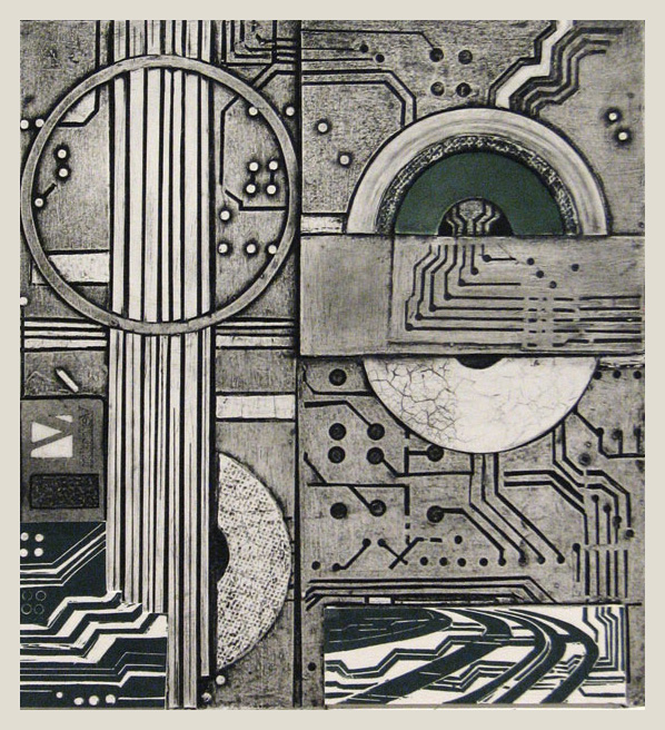 Tech-Environments_Collagraph-and-Linocut