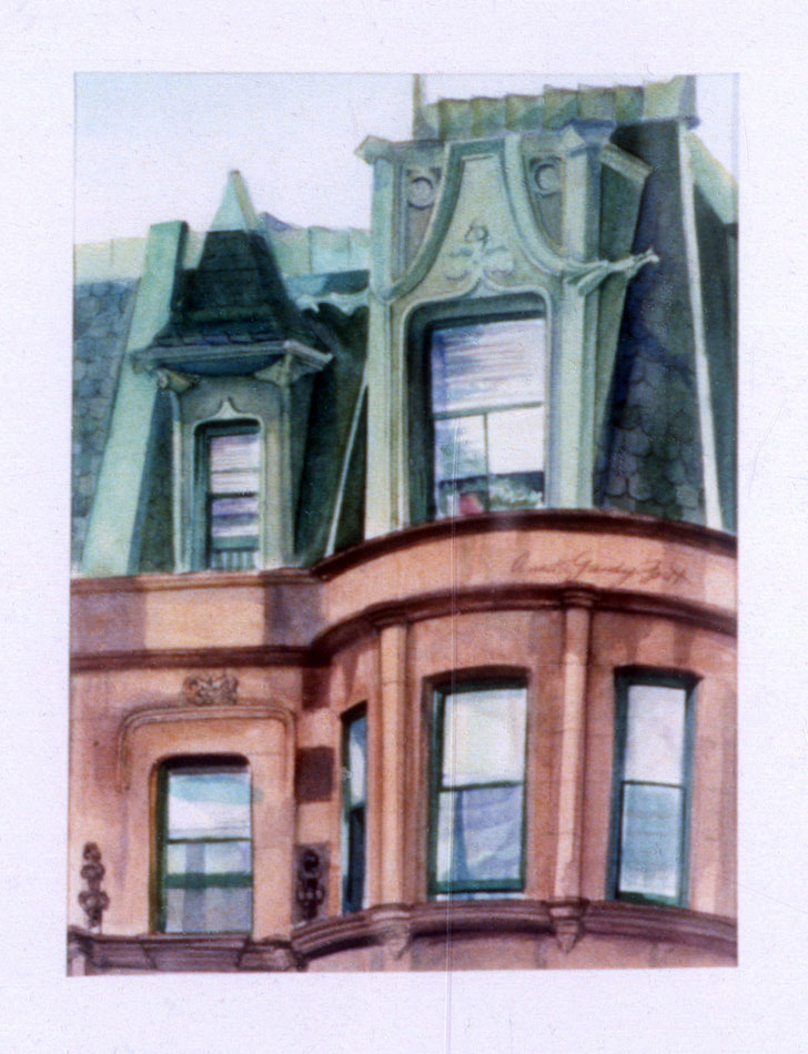Annette-Gandy-Fortt_Brownstone-with-Gree