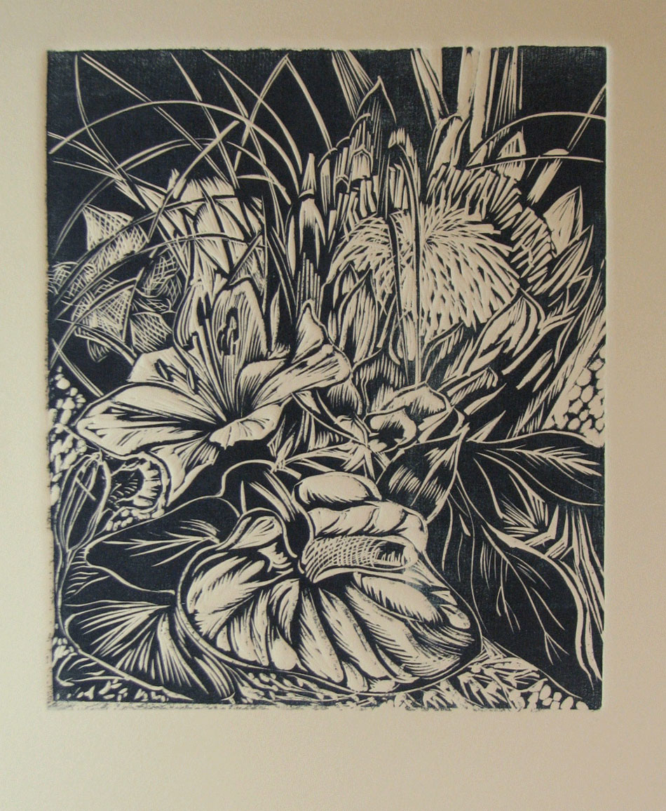 Annette-GandyFortt_Tropical-Bouquet_Lino