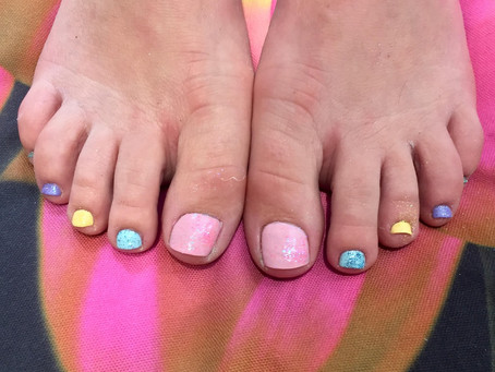 How to have Pretty Feet!!!!