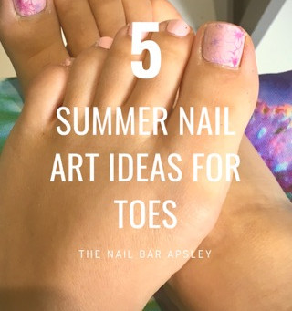 Five summer nail art ideas for toes