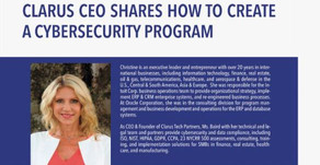 Clarus CEO Shares How to Create a Cybersecurity Program in Connected Real Estate Magazine