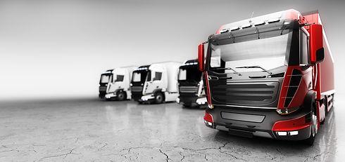 fleet-of-trucks-with-cargo-trailers-tran