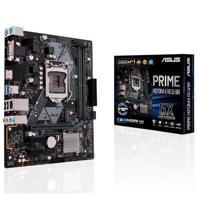 PLACA MAE INTEL ASUS PRIME H310MEBR DDR4 1151 8 GERACAO