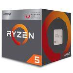 PROCESSADOR AMD RYZEN R52400G 39GHZ AM4 6MB CACHE