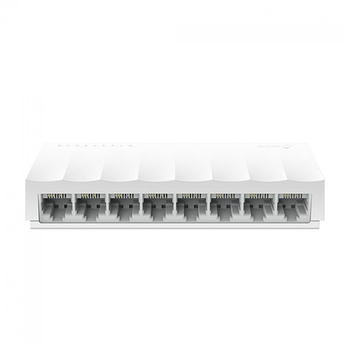 Switch TP-Link LS1008 8 Portas 10/100Mbps Fast Ethernet, White