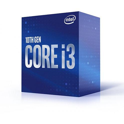 Processador Intel Core i3 10100F 3.60GHz (4.30GHz Turbo), 10ª Geração