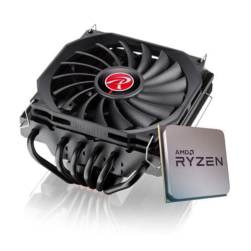 Processador AMD Ryzen 5 5600X 4.6GHz + Cooler Raijintek Pallas 120
