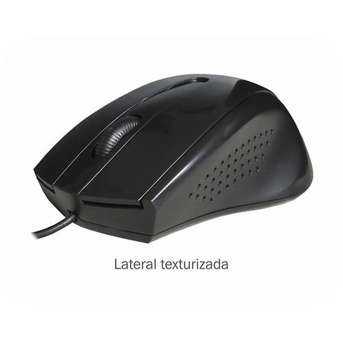 Mouse Optico Ergonomico Mo-d433 Preto K-mex