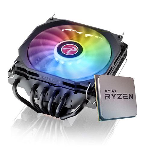 Processador AMD Ryzen 5 5600X 4.6GHz + Cooler Raijintek Pallas 120 RGB
