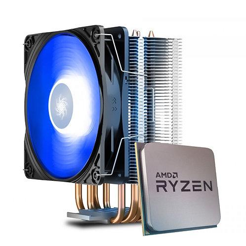 Processador AMD Ryzen 5 5600X 4.6GHz + Cooler DeepCool Gammaxx 400 V2 Blue
