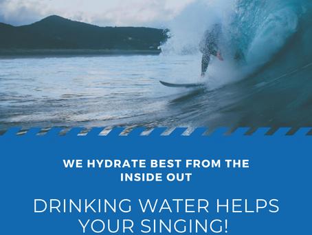Hydration Basics for Singers