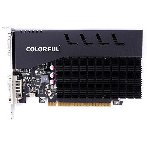 Placa de Vídeo Colorful, GeForce, GT 710, 1GB GDDR3, 64Bit, GT710 NF 1GD3-V