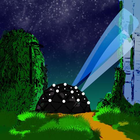 Supernova - Instalación para Llum Poblenou 2020