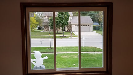 A three lite slider style window