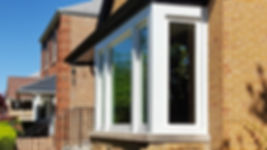 Casement windows with a picture window