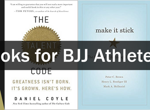 Books for BJJ athletes – Part 1: Getting good at something
