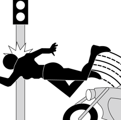 Motorcycle Crash 6