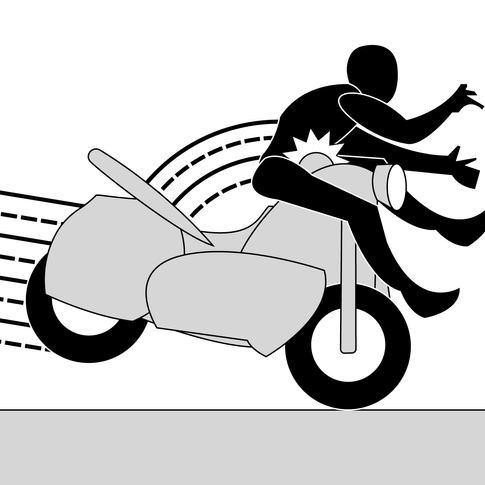Motorcycle Crash 1