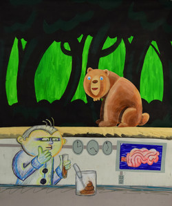 Does a Bear Poop in The Woods?