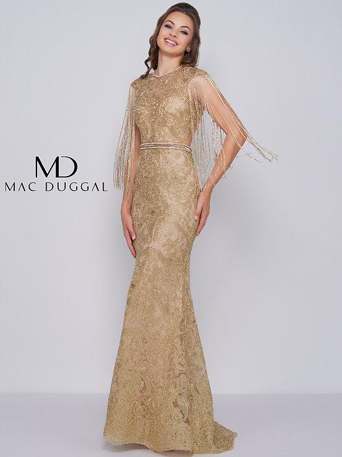 Mac Duggal Style# 12162M Gold