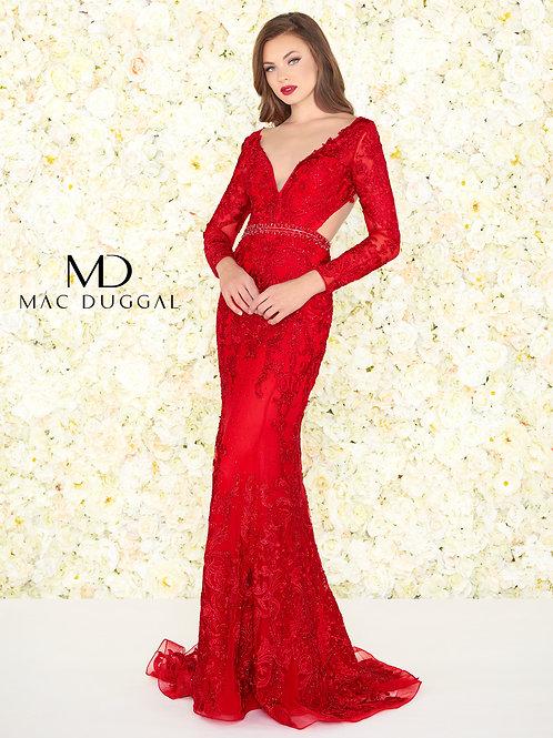 Mac Duggal Style# 50540R Red