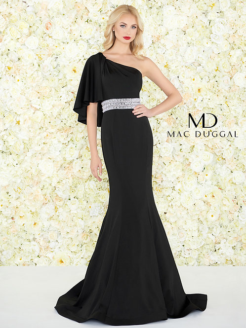 Mac Duggal Style# 66587R Black