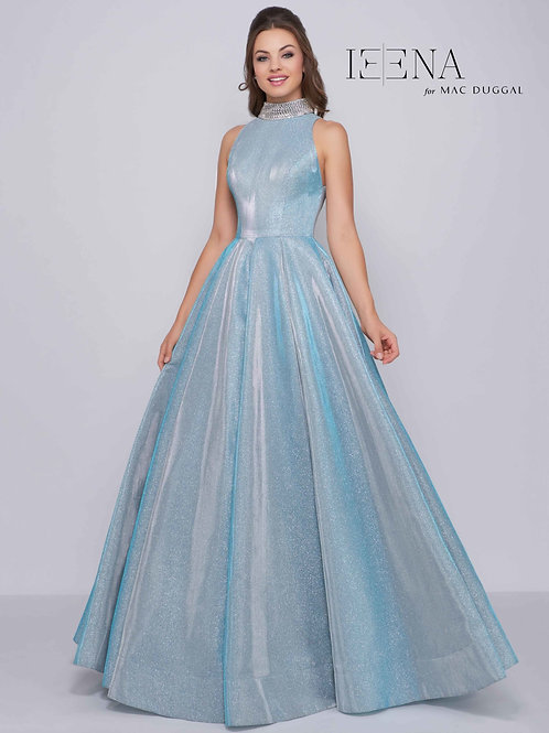 Mac Duggal Style# 25957i-Shimmering Ice