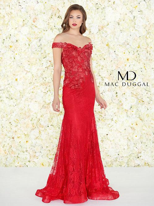 Mac Duggal Style# 66214R Ruby