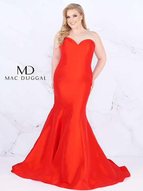 Mac Duggal Style# 67606F Red