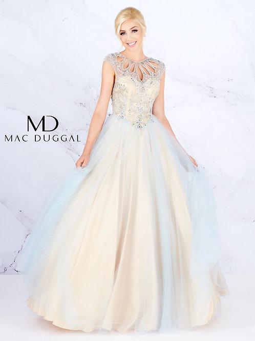 Mac Duggal Style# 40750H PowderBlue
