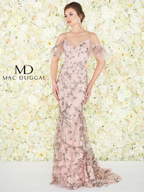 Mac Duggal Style# 50564D Rose Pink