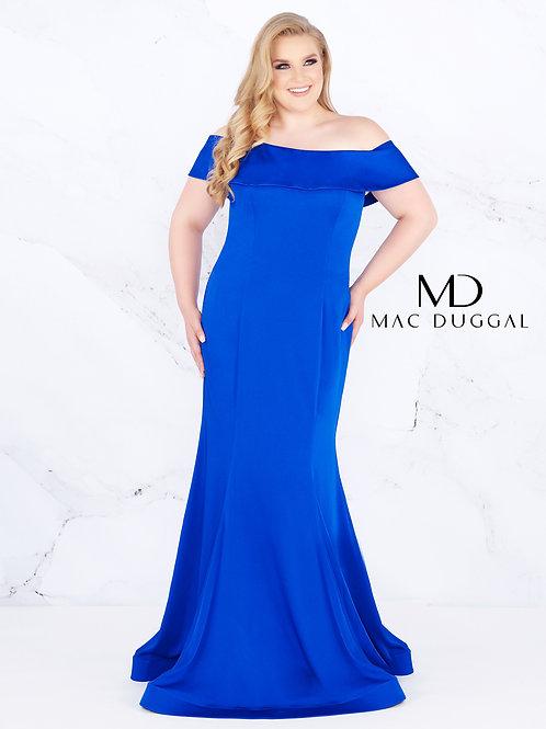 Mac Duggal Style# 66812F Sapphire