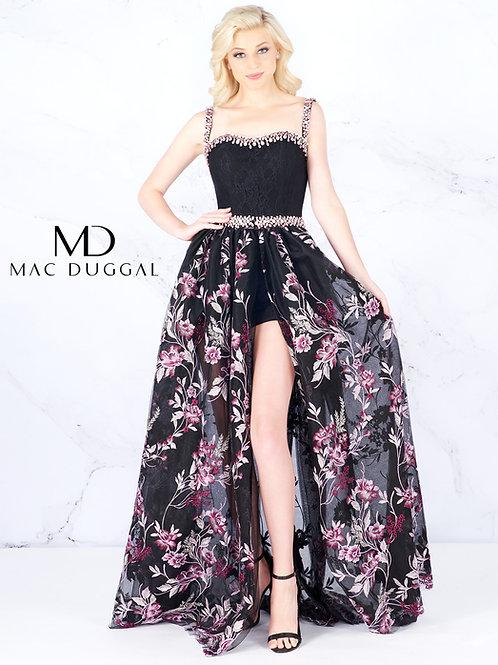 Mac Duggal Style# 66767A BlackOrchid
