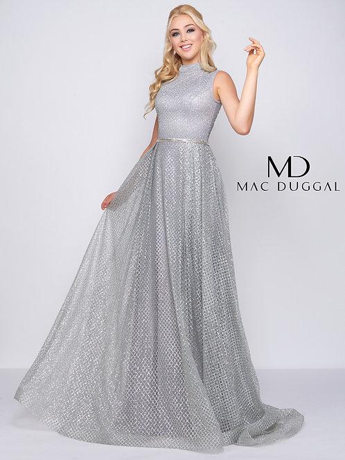 Mac Duggal Style# 20090D Silver