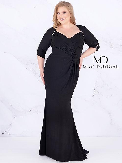 Mac Duggal Style# 77537F Black