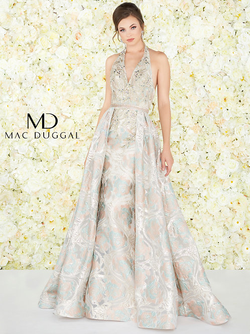 Mac Duggal Style# 79204D-Rose-Gold