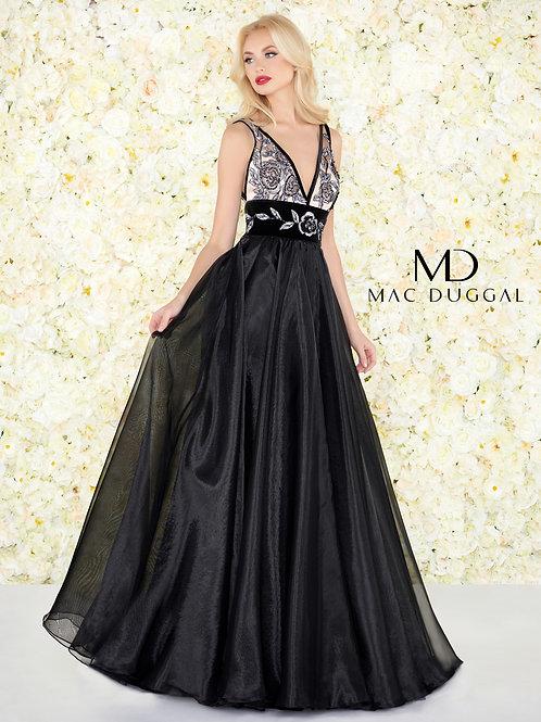 Mac Duggal Style# 2035R Noir