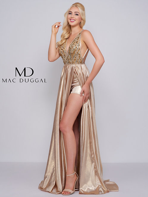 Mac Duggal Style# 12143M Gold