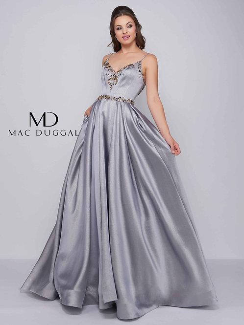 Mac Duggal Style# 40890H Platinum