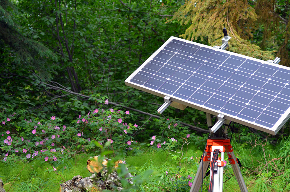 Konza Dual Axis Solar Trackers