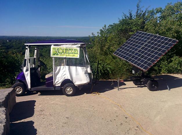 Portable Dual Axis Solar Trackers